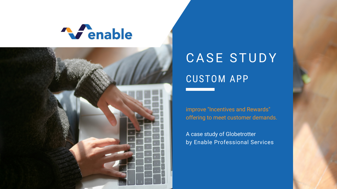Custom application case study — Globetrotter